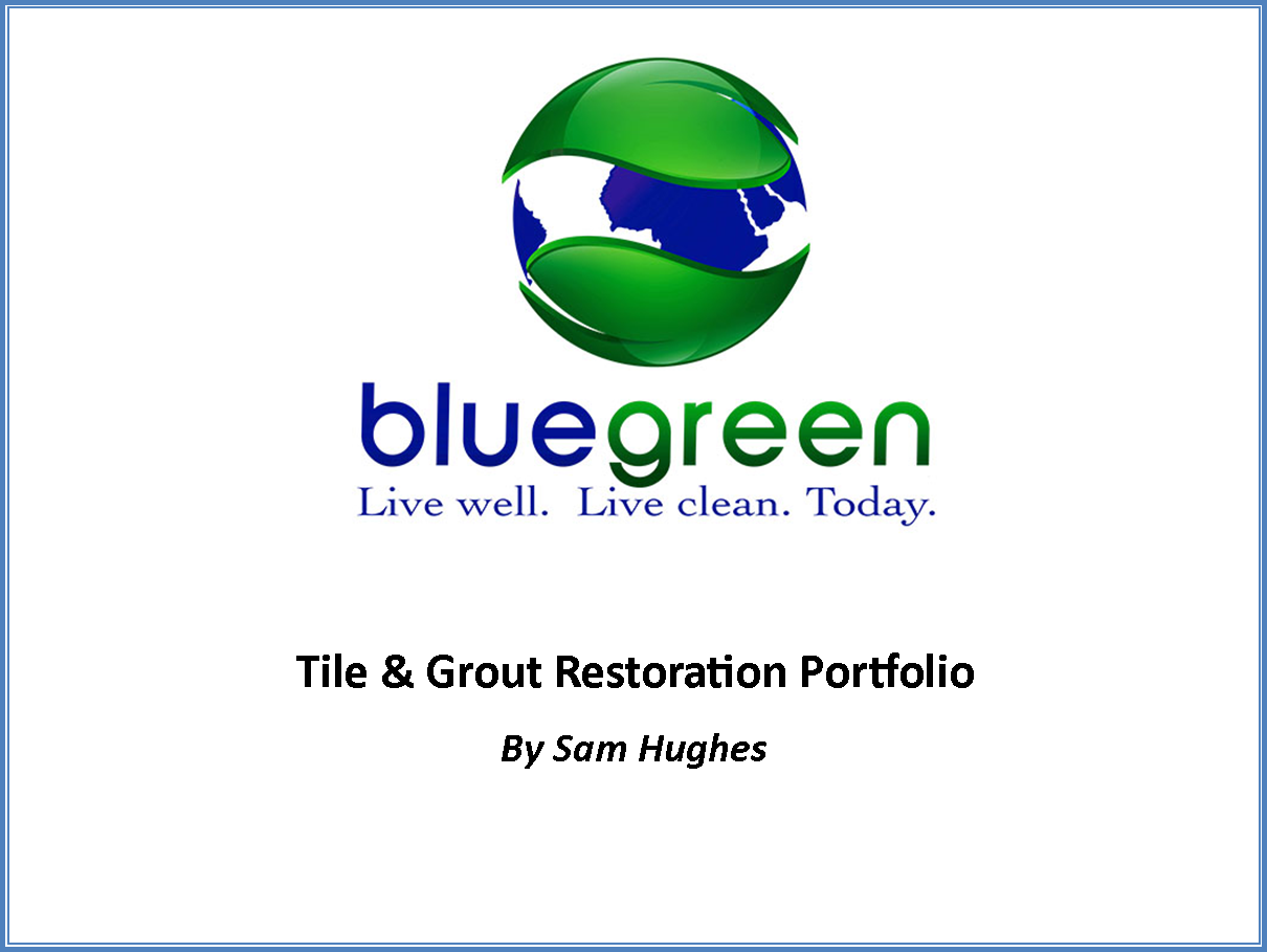 Tile and grout project portfolio