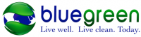 Bluegreen Floor Care Sticky Logo