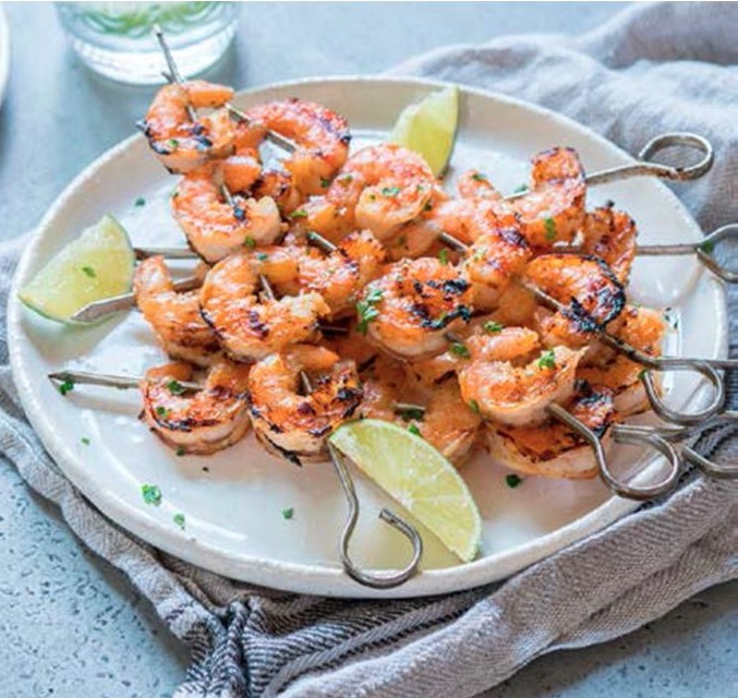 Grilled Marinated Shrimp Bluegreen Floor Care